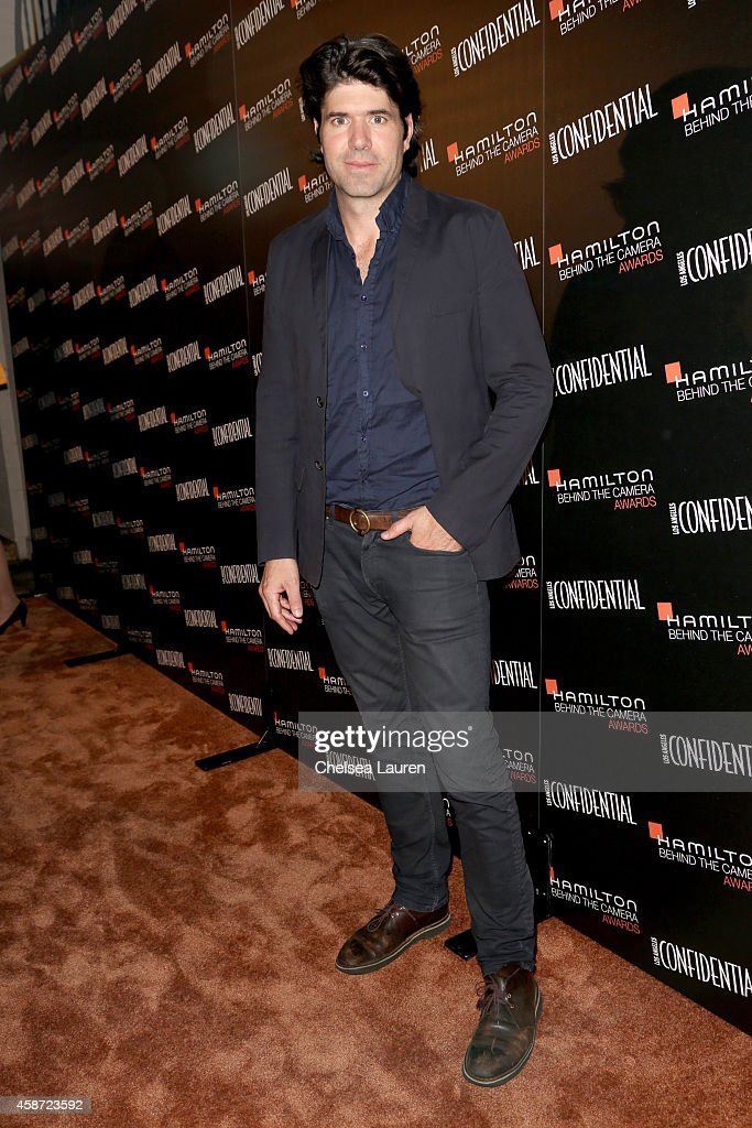 Honoree J. C. Chandor attends The 2014 Hamilton Behind the Camera Awards presented by Hamilton Watch and LA Confidential at The Wilshire Ebell Theatre on November 9, 2014 in Los Angeles, California.