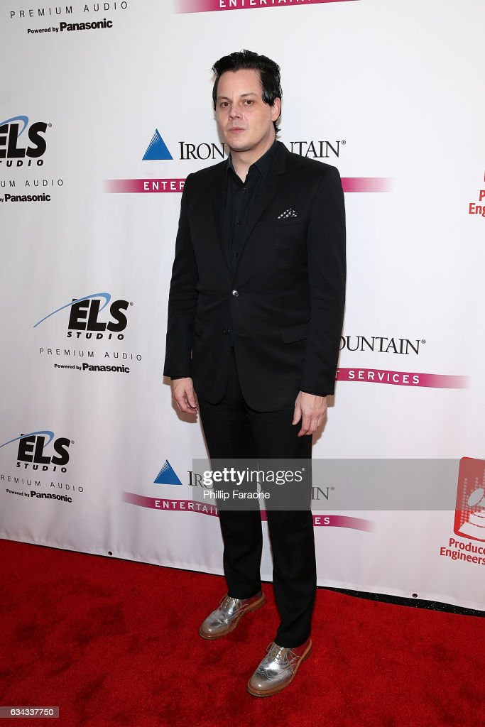 Honoree Jack White attends The Recording Academy Producers and Engineers Wing Presents 10th Annual GRAMMY Week Event Honoring Jack White at The Village Recording Studios on February 8, 2017 in Los Angeles, California.