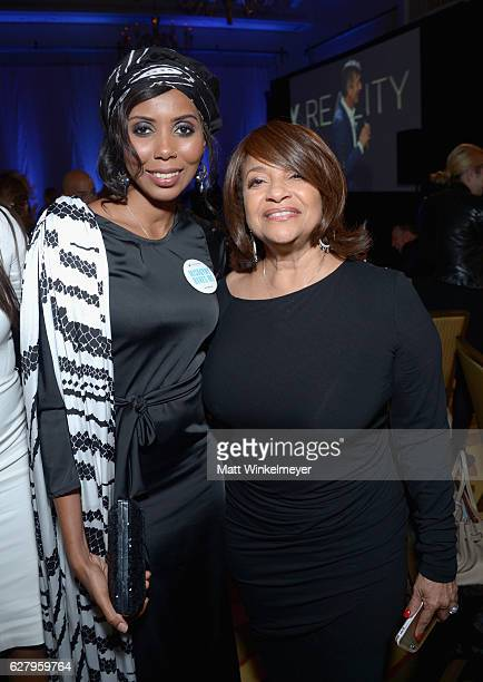 Honoree Jaha Dukureh and actress Debbie Allen attend Equality Now's third annual 'Make Equality Reality' Gala on December 5 2016 in Beverly Hills...