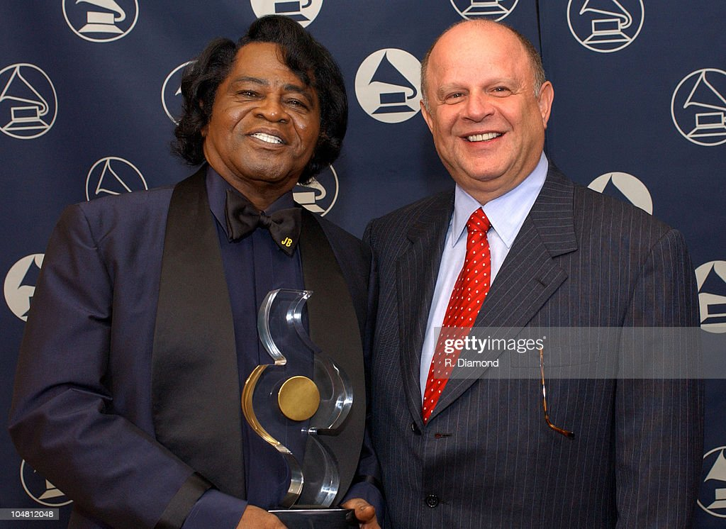 Honoree James Brown and Joel Katz, Legal Concil The Recording Academy