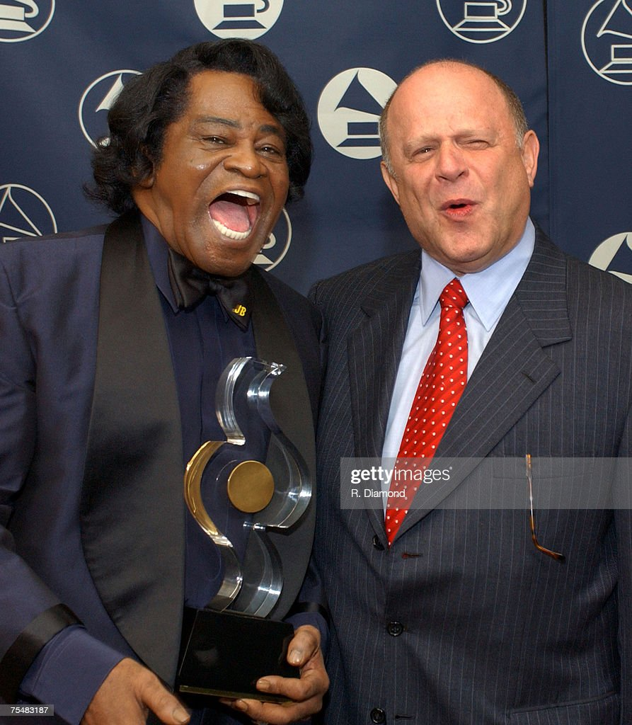 Honoree James Brown and Joel Katz, Legal Concil The Recording Academy at the Westin Peachtree Plaza in Atlanta, Georgia