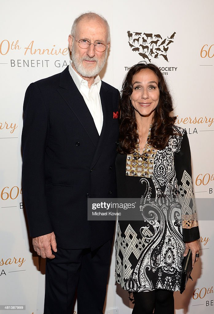 Honoree <a gi-track='captionPersonalityLinkClicked' href=/galleries/search?phrase=James+Cromwell&family=editorial&specificpeople=211295 ng-click='$event.stopPropagation()'>James Cromwell</a> (L) and filmmaker <a gi-track='captionPersonalityLinkClicked' href=/galleries/search?phrase=Gabriela+Cowperthwaite&family=editorial&specificpeople=10127120 ng-click='$event.stopPropagation()'>Gabriela Cowperthwaite</a> attend the Humane Society of The United States 60th Anniversary Gala at The Beverly Hilton Hotel on March 29, 2014 in Beverly Hills, California.