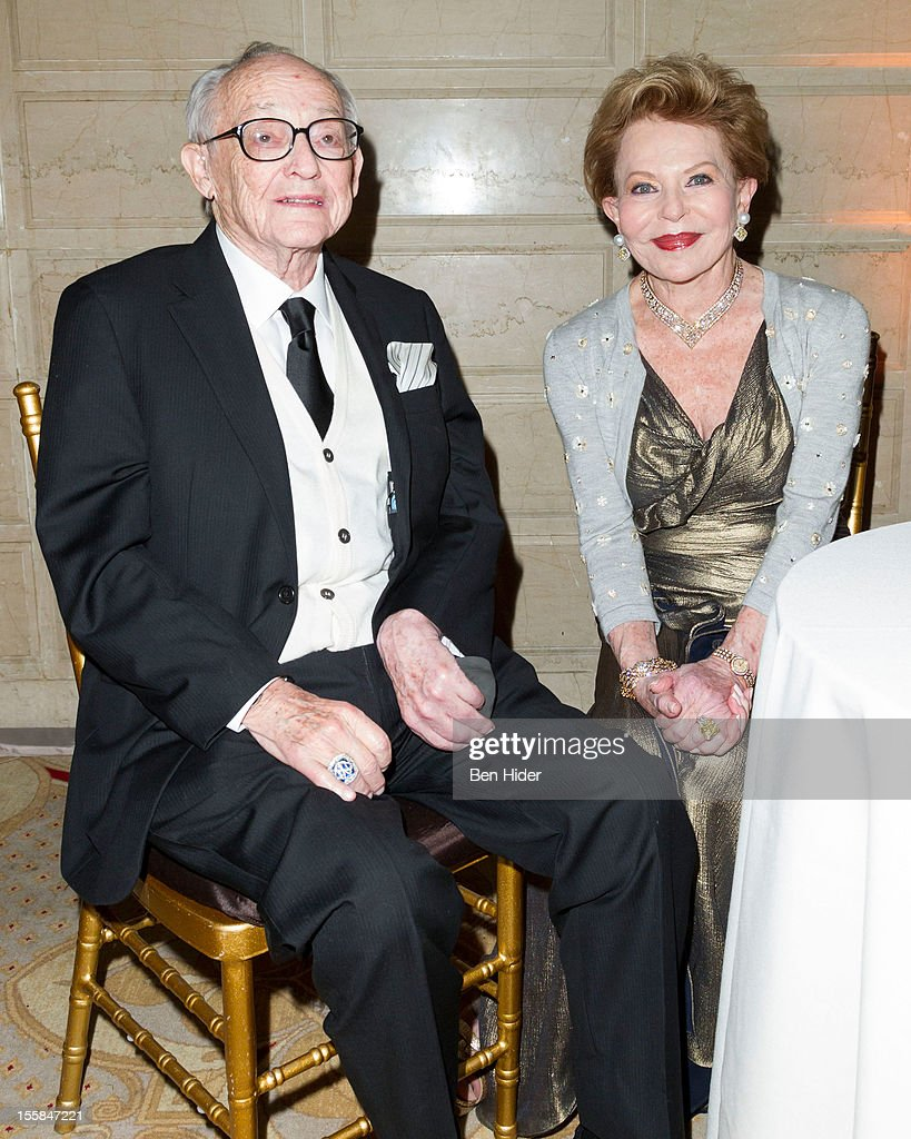 Honoree James L. Nederlander and wife Charlene Nederlander attend the 2012 Living Landmarks Celebration at The Plaza on November 8, 2012 in New York City.