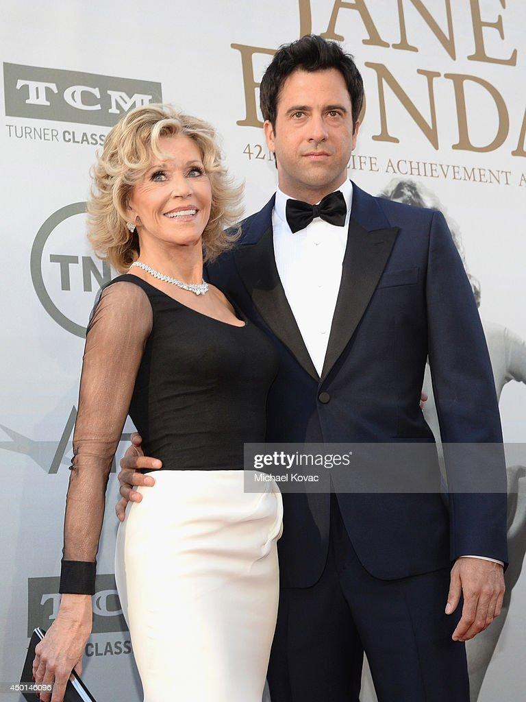 Honoree Jane Fonda (L) and actor Troy Garity attend the 2014 AFI Life Achievement Award: A Tribute to Jane Fonda at the Dolby Theatre on June 5, 2014 in Hollywood, California. Tribute show airing Saturday, June 14, 2014 at 9pm ET/PT on TNT.