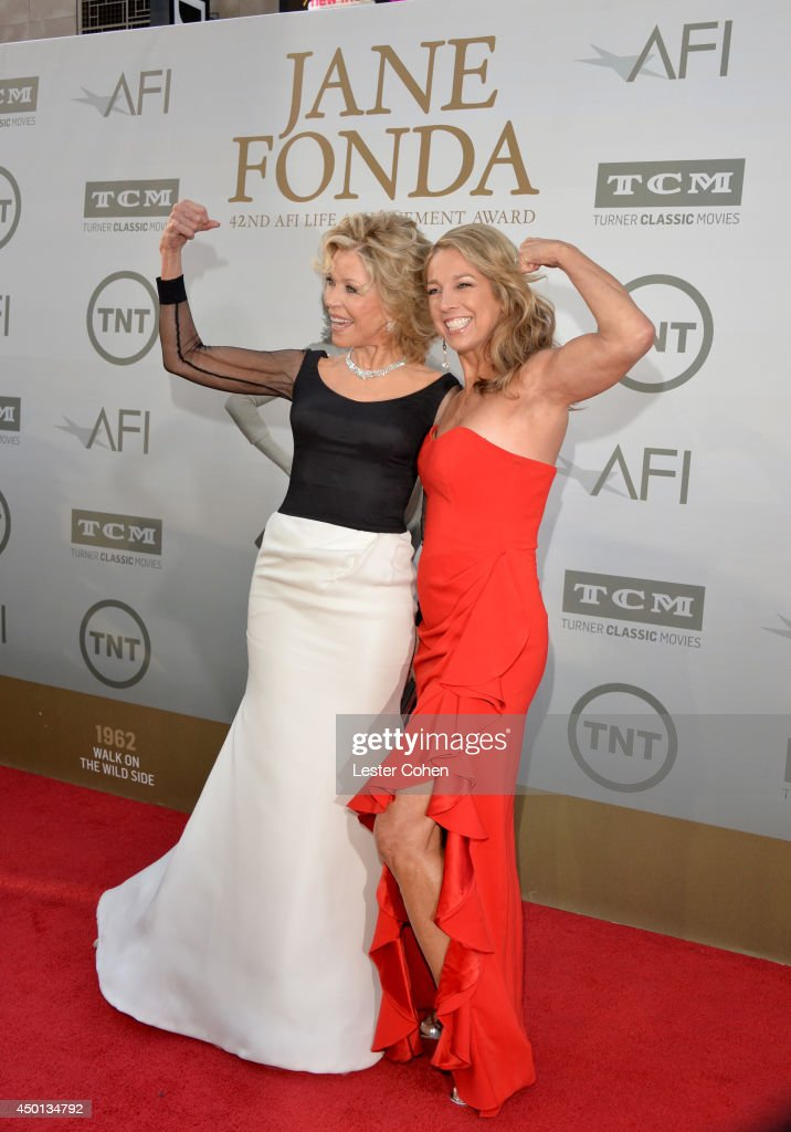Honoree <a gi-track='captionPersonalityLinkClicked' href=/galleries/search?phrase=Jane+Fonda&family=editorial&specificpeople=202174 ng-click='$event.stopPropagation()'>Jane Fonda</a> (L) and fitness expert <a gi-track='captionPersonalityLinkClicked' href=/galleries/search?phrase=Denise+Austin&family=editorial&specificpeople=956724 ng-click='$event.stopPropagation()'>Denise Austin</a> attend the 2014 AFI Life Achievement Award: A Tribute to <a gi-track='captionPersonalityLinkClicked' href=/galleries/search?phrase=Jane+Fonda&family=editorial&specificpeople=202174 ng-click='$event.stopPropagation()'>Jane Fonda</a> at the Dolby Theatre on June 5, 2014 in Hollywood, California. Tribute show airing Saturday, June 14, 2014 at 9pm ET/PT on TNT.