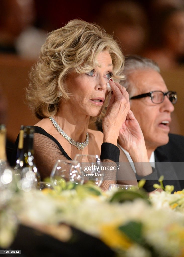 Honoree Jane Fonda (L) and record producer Richard Perry attend the 2014 AFI Life Achievement Award: A Tribute to Jane Fonda at the Dolby Theatre on June 5, 2014 in Hollywood, California. Tribute show airing Saturday, June 14, 2014 at 9pm ET/PT on TNT.
