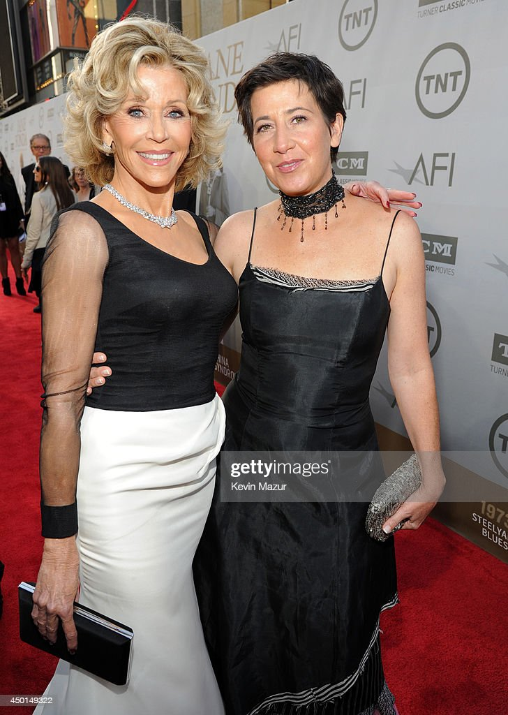 Honoree Jane Fonda (L) and Vanessa Vadim attend the 2014 AFI Life Achievement Award: A Tribute to Jane Fonda at the Dolby Theatre on June 5, 2014 in Hollywood, California. Tribute show airing Saturday, June 14, 2014 at 9pm ET/PT on TNT.
