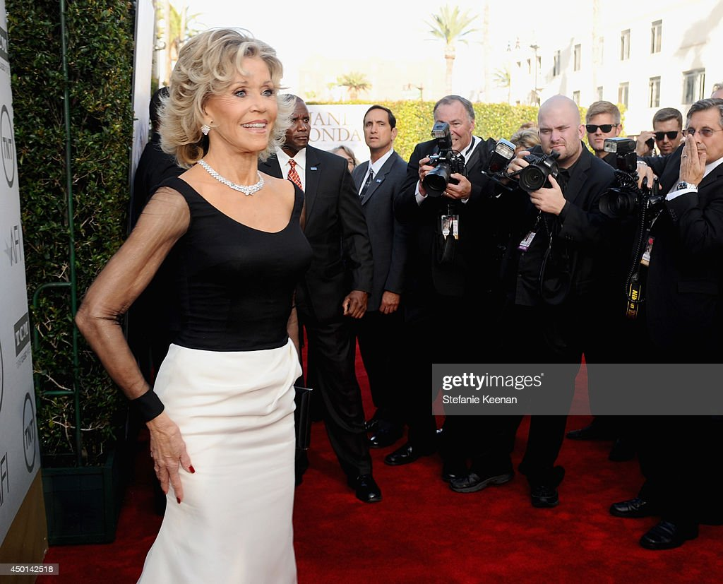 Honoree Jane Fonda attends the 2014 AFI Life Achievement Award: A Tribute to Jane Fonda at the Dolby Theatre on June 5, 2014 in Hollywood, California. Tribute show airing Saturday, June 14, 2014 at 9pm ET/PT on TNT.