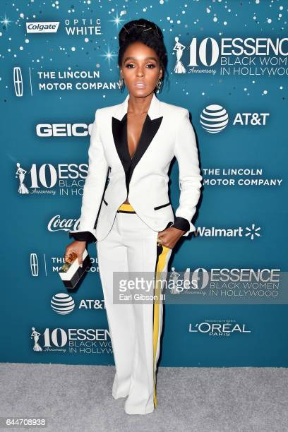 Honoree Janelle Monae at Essence Black Women in Hollywood Awards at the Beverly Wilshire Four Seasons Hotel on February 23 2017 in Beverly Hills...