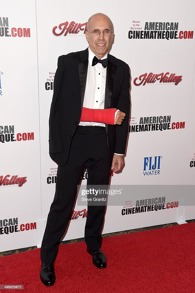 Honoree <a gi-track='captionPersonalityLinkClicked' href=/galleries/search?phrase=Jeffrey+Katzenberg&family=editorial&specificpeople=171496 ng-click='$event.stopPropagation()'>Jeffrey Katzenberg</a> attends the 29th American Cinematheque Award honoring Reese Witherspoon at the Hyatt Regency Century Plaza on October 30, 2015 in Los Angeles, California.