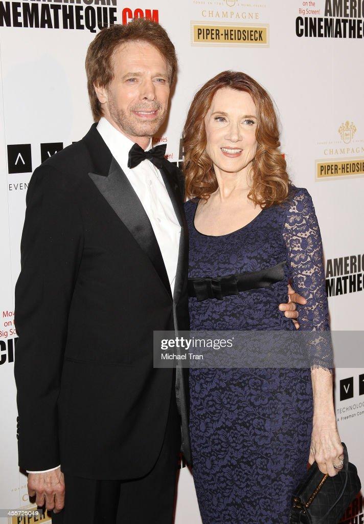 Honoree Jerry Bruckheimer and Linda Bruckheimer attend the 27th American Cinematheque Award honoring him at the 27th American Cinematheque Award...