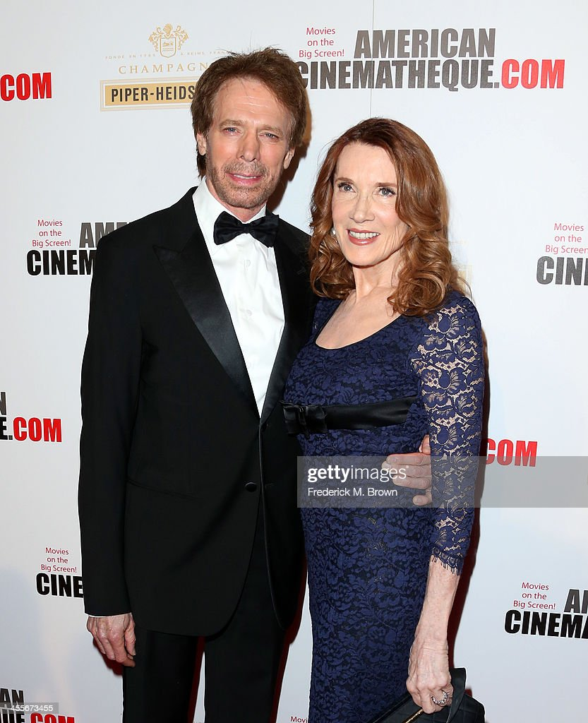 Honoree Jerry Bruckheimer and wife Linda Bruckheimer arrive at the 27th American Cinematheque Award honoring Jerry Bruckheimer at The Beverly Hilton...