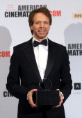Honoree Jerry Bruckheimer attends the 27th American Cinematheque Award honoring Jerry Bruckheimer at The Beverly Hilton Hotel on December 12 2013 in...