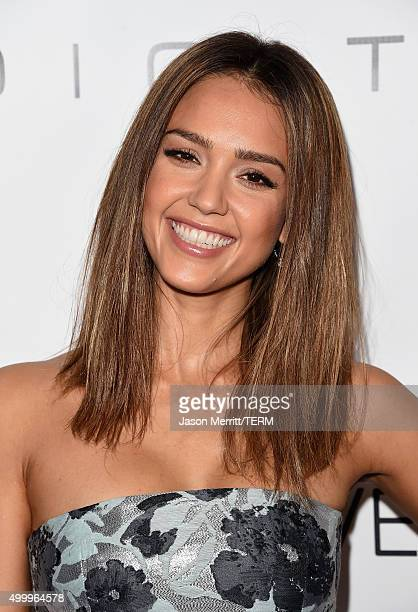 Honoree Jessica Alba attends the 2015 March Of Dimes Celebration Of Babies at the Beverly Wilshire Four Seasons Hotel on December 4 2015 in Beverly...