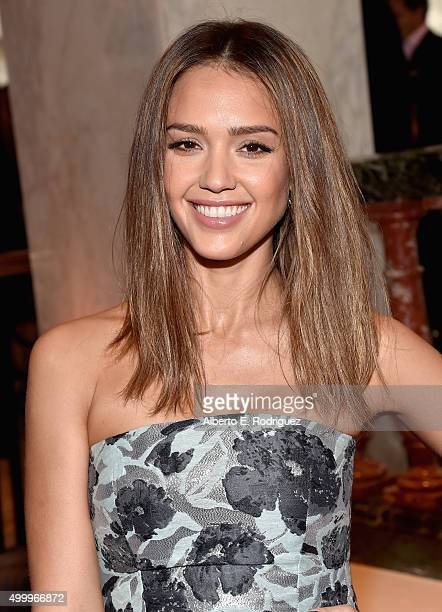 Honoree Jessica Alba attends the March Of Dimes Celebration Of Babies Luncheon honoring Jessica Alba at the Beverly Wilshire Four Seasons Hotel on...