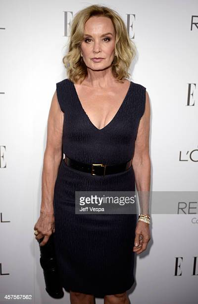 Honoree Jessica Lange attends ELLE's 21st Annual Women in Hollywood Celebration at the Four Seasons Hotel on October 20 2014 in Beverly Hills...
