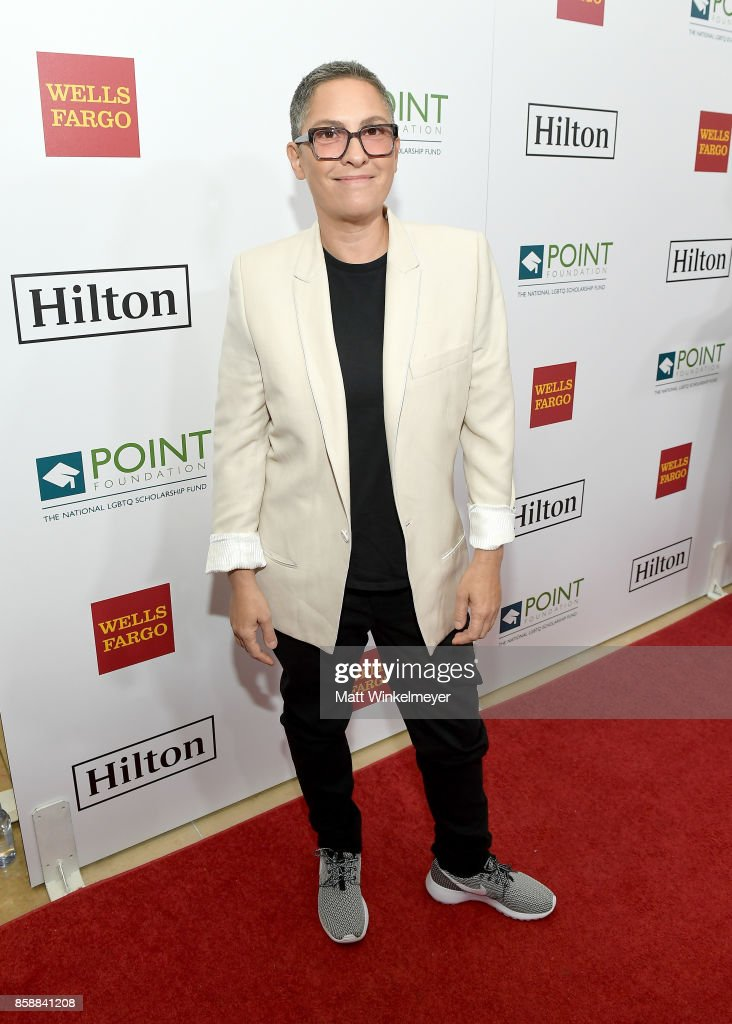 Honoree Jill Soloway at Point Honors Los Angeles 2017, benefiting Point Foundation, at The Beverly Hilton Hotel on October 7, 2017 in Beverly Hills, California.