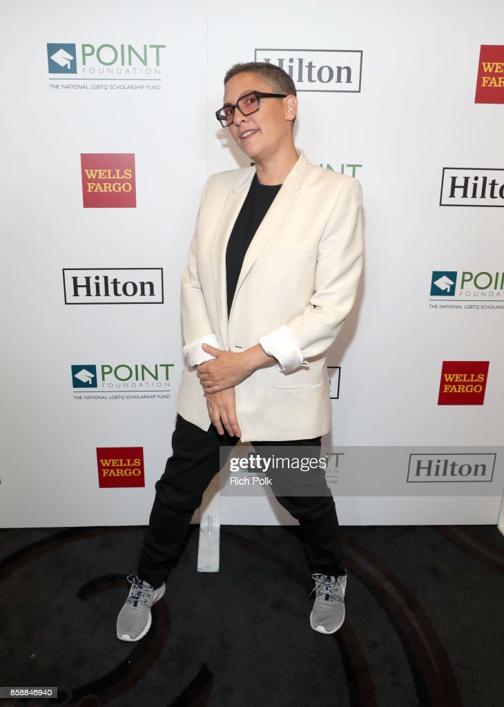 Honoree Jill Soloway attends Point Impact Award onstage at Point Honors Los Angeles 2017, benefiting Point Foundation, at The Beverly Hilton Hotel on October 7, 2017 in Beverly Hills, California.