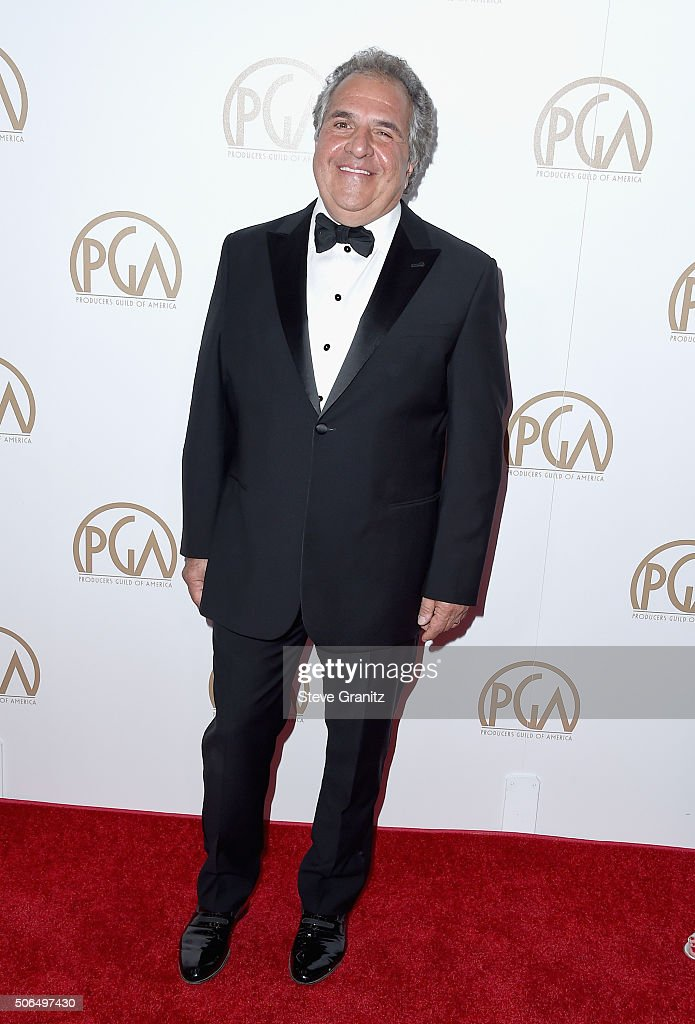 Honoree Jim Gianopulos attends the 27th Annual Producers Guild Awards at the Hyatt Regency Century Plaza on January 23, 2016 in Century City, California.