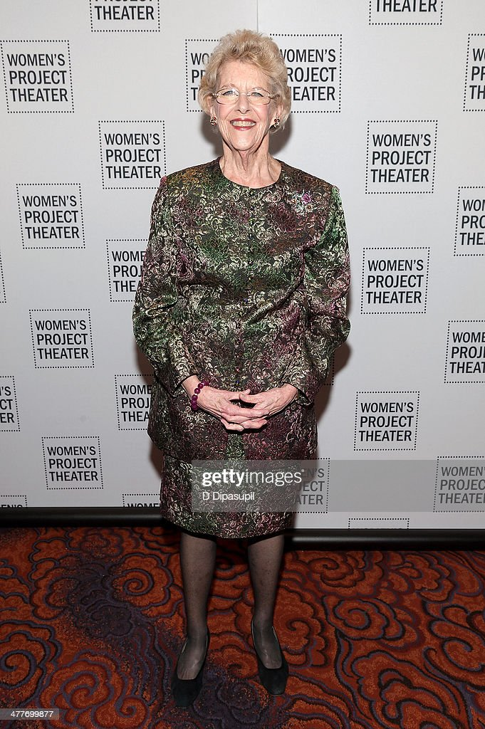 Honoree Joan Vail Thorne attends the Women Project Theater's 2014 Women Of Achievement Gala at the Mandarin Oriental Hotel on March 10, 2014 in New York City.