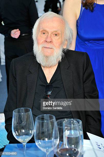 Honoree John Baldessari attends the 2015 MOCA Gala presented by Louis Vuitton at The Geffen Contemporary at MOCA on May 30 2015 in Los Angeles...