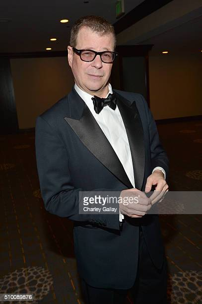 Honoree John McNamara attends the Cocktail Reception before the 2016 Writers Guild Awards at the Hyatt Regency Century Plaza on February 13 2016 in...