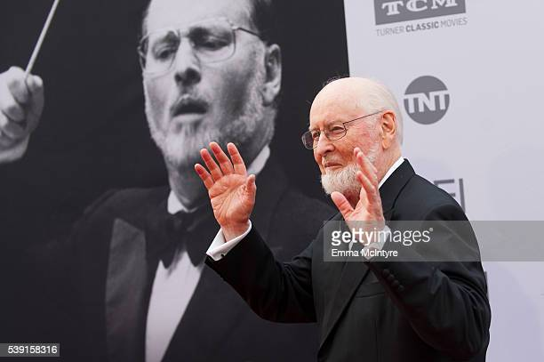 Honoree John Williams arrives at the 2016 American Film Institute Life Achievement Awards Honoring John Williams at Dolby Theatre on June 9 2016 in...