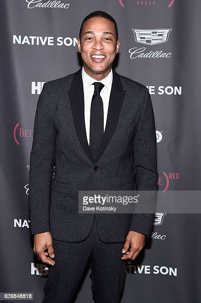 Honoree journalist Don Lemon attends at The inaugural Native Son Awards honoring George C Wolfe Don Lemon and DeRay Mckesson at Cadillac House on...