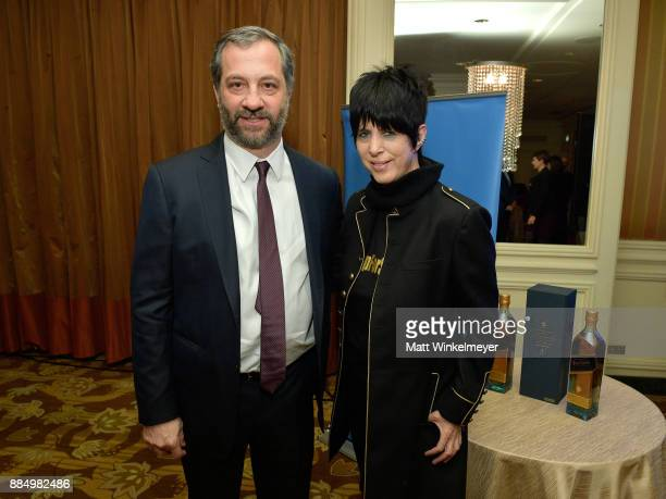 Honoree Judd Apatow and Diane Warren attend ACLU SoCal Hosts Annual Bill of Rights Dinner at the Beverly Wilshire Four Seasons Hotel on December 3...