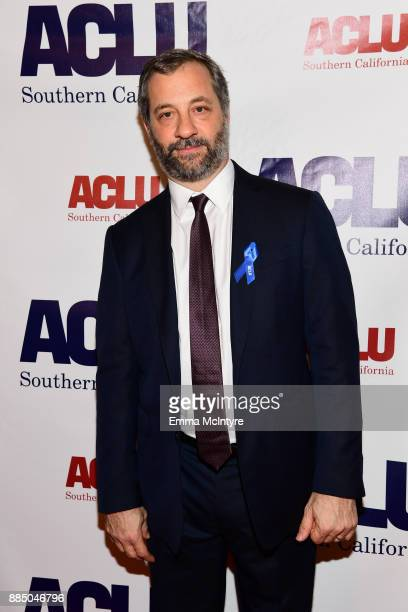 Honoree Judd Apatow attends ACLU SoCal Hosts Annual Bill of Rights Dinner at the Beverly Wilshire Four Seasons Hotel on December 3 2017 in Beverly...
