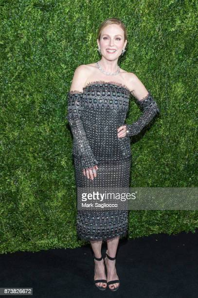 Honoree Julianne Moore attends the 2017 Museum of Modern Art Film Benefit Tribute to Julianne Moore at the Museum of Modern Art on November 13 2017...