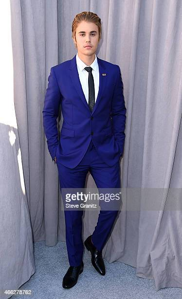 Honoree Justin Bieber attends The Comedy Central Roast of Justin Bieber at Sony Pictures Studios on March 14 2015 in Los Angeles California