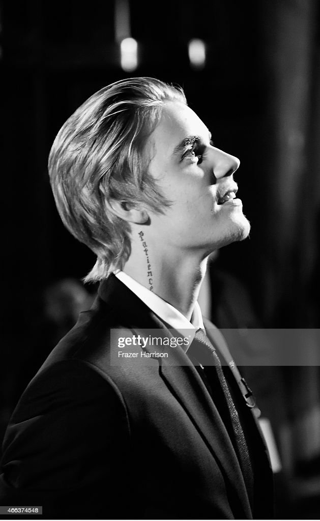 . Honoree Justin Bieber attends The Comedy Central Roast of Justin Bieber at Sony Pictures Studios > on March 14, 2015 in Los Angeles, California.