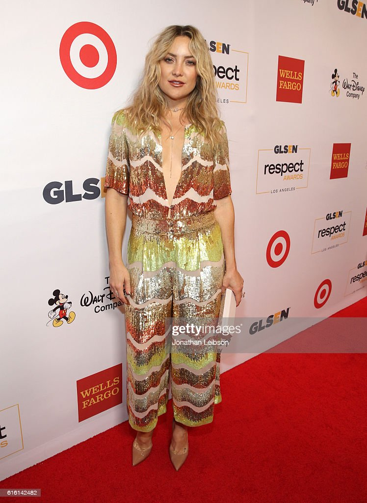 Honoree Kate Hudson attends the 2016 GLSEN Respect Awards - Los Angeles at the Beverly Wilshire Four Seasons Hotel on October 21, 2016 in Beverly Hills, California.