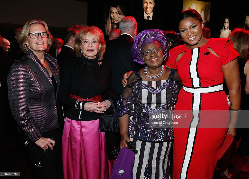 Honoree Kathryn D. Sullivan, <a gi-track='captionPersonalityLinkClicked' href=/galleries/search?phrase=Barbara+Walters&family=editorial&specificpeople=201871 ng-click='$event.stopPropagation()'>Barbara Walters</a>, Ngozi Okonjo-Iweala and Omotola Jalade Ekeinde attend the TIME 100 Gala, TIME's 100 most influential people in the world, at Jazz at Lincoln Center on April 29, 2014 in New York City.