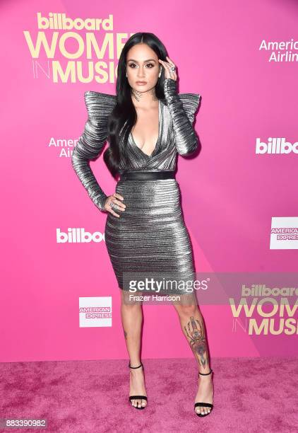 Honoree Kehlani attends Billboard Women In Music 2017 at The Ray Dolby Ballroom at Hollywood Highland Center on November 30 2017 in Hollywood...