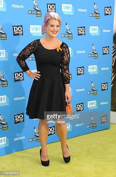 Honoree Kelly Osbourne arrives at the DoSomethingorg and VH1's 2013 Do Something Awards at Avalon on July 31 2013 in Hollywood California