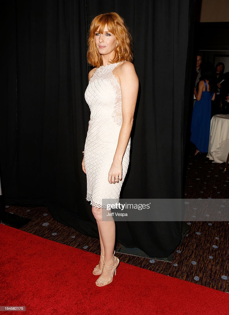 Honoree Kelly Reilly arrives at the 16th Annual Hollywood Film Awards Gala presented by The Los Angeles Times held at The Beverly Hilton Hotel on October 22, 2012 in Beverly Hills, California.