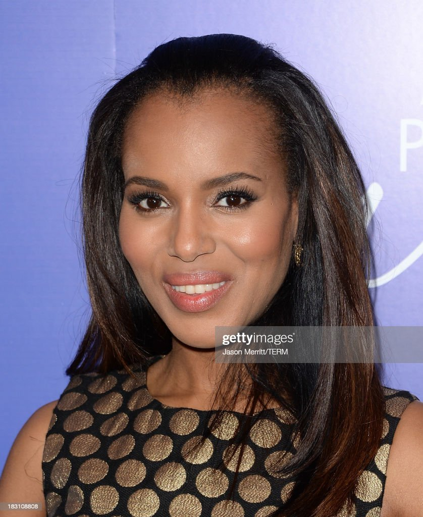 Honoree <a gi-track='captionPersonalityLinkClicked' href=/galleries/search?phrase=Kerry+Washington&family=editorial&specificpeople=201534 ng-click='$event.stopPropagation()'>Kerry Washington</a> arrives at Variety's 5th Annual Power of Women event presented by Lifetime at the Beverly Wilshire Four Seasons Hotel on October 4, 2013 in Beverly Hills, California.