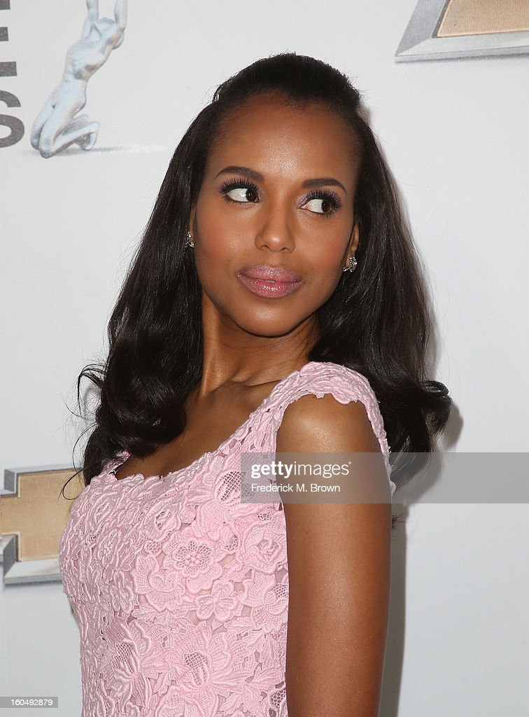 Honoree <a gi-track='captionPersonalityLinkClicked' href=/galleries/search?phrase=Kerry+Washington&family=editorial&specificpeople=201534 ng-click='$event.stopPropagation()'>Kerry Washington</a> attends the 44th NAACP Image Awards at The Shrine Auditorium on February 1, 2013 in Los Angeles, California.