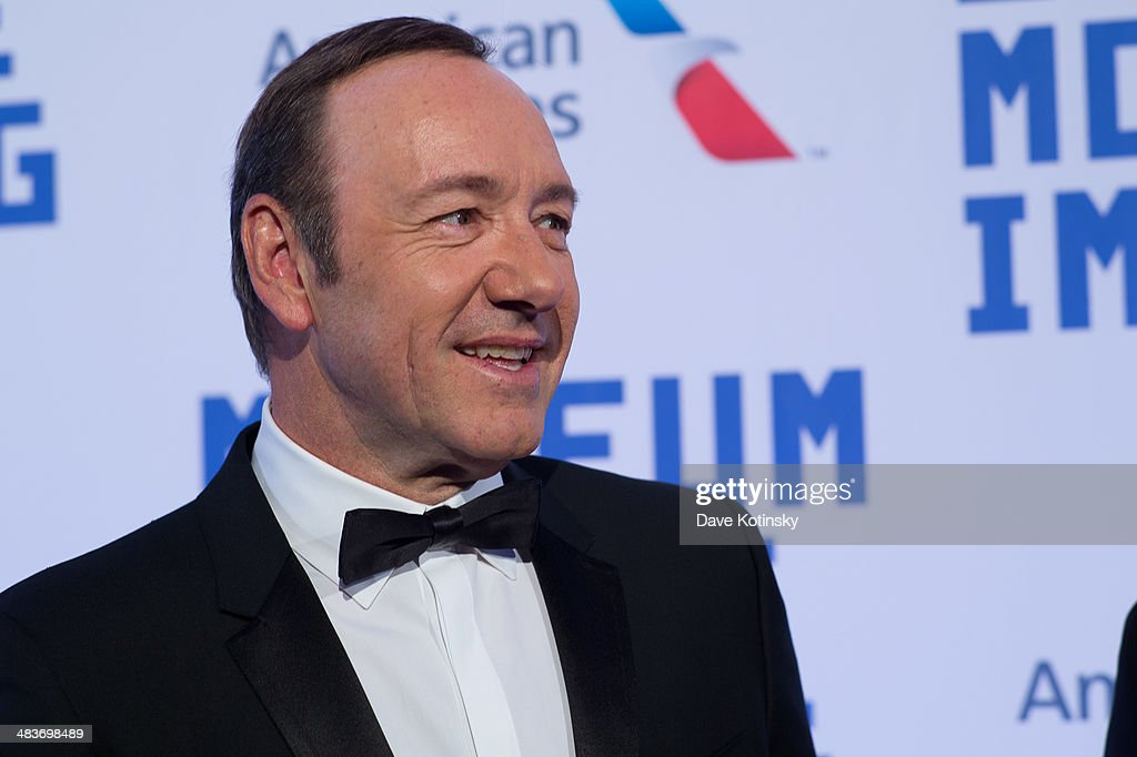 Honoree <a gi-track='captionPersonalityLinkClicked' href=/galleries/search?phrase=Kevin+Spacey&family=editorial&specificpeople=202091 ng-click='$event.stopPropagation()'>Kevin Spacey</a> attends the Museum Of The Moving Image 28th Annual Salute Honoring <a gi-track='captionPersonalityLinkClicked' href=/galleries/search?phrase=Kevin+Spacey&family=editorial&specificpeople=202091 ng-click='$event.stopPropagation()'>Kevin Spacey</a> on April 9, 2014 in New York City.