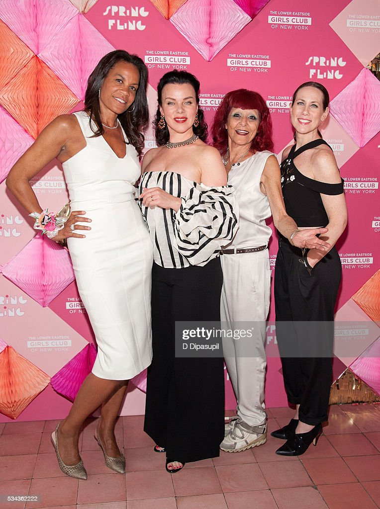 Honoree Kimberley Hatchett Debi Mazar honoree Patricia Field and Miriam Shor attend The Lower Eastside Girls Club Spring Fling 2016 at The Bowery...