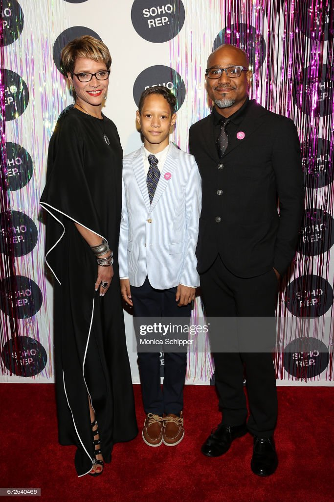 Honoree Leah C Gardiner Jonah Gilliam And Actor Seth Gilliam Attends The  2017 Soho Rep Spring