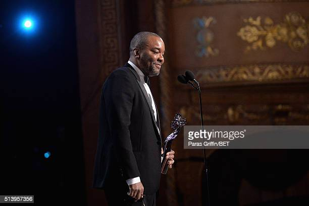 Honoree Lee Daniels accepts an award on stage during the BET Honors 2016 Show at Warner Theatre on March 5 2016 in Washington DC