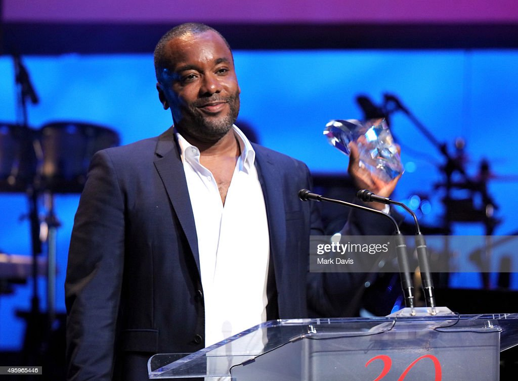 Honoree Lee Daniels accepts the Patron of the Artists Award onstage during the Screen Actors Guild Foundation 30th Anniversary Celebration at Wallis...