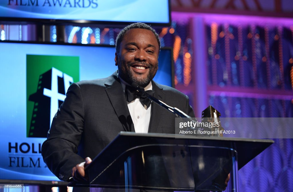Honoree <a gi-track='captionPersonalityLinkClicked' href=/galleries/search?phrase=Lee+Daniels&family=editorial&specificpeople=209078 ng-click='$event.stopPropagation()'>Lee Daniels</a> onstage during the 17th annual Hollywood Film Awards at The Beverly Hilton Hotel on October 21, 2013 in Beverly Hills, California.