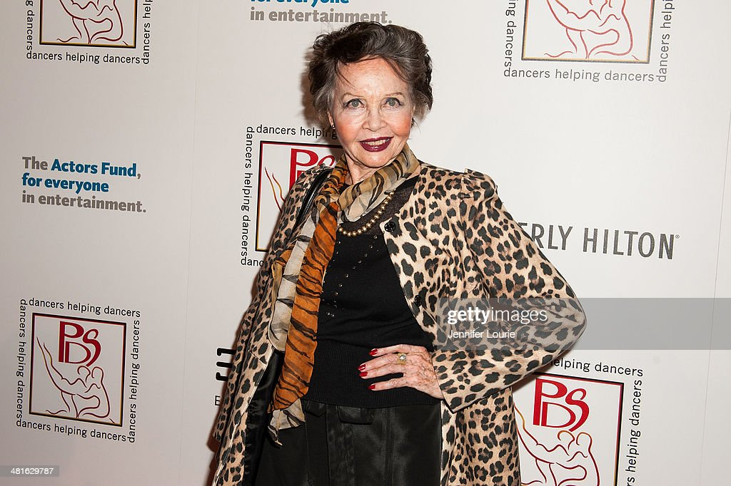 Honoree Leslie Caron arrives at the Professional Dancers Society's 27th Annual Gypsy Award Luncheon hosted at The Beverly Hilton Hotel on March 30, 2014 in Beverly Hills, California.