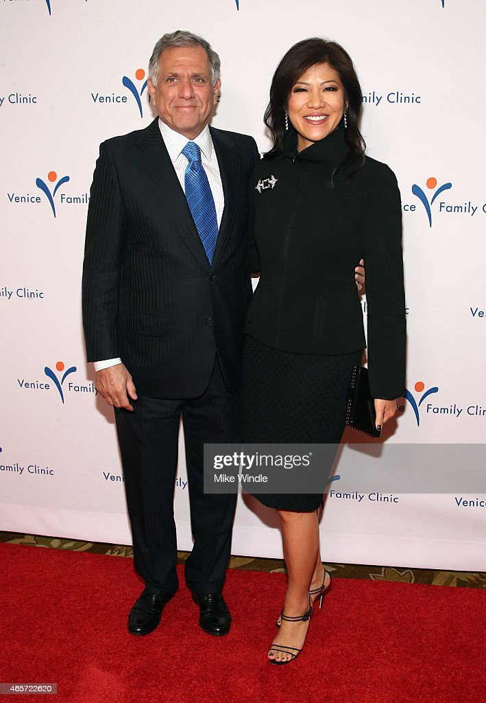 Honoree Leslie Moonves and TV personality Julie Chen attend Venice Family Clinic's Silver Circle Gala at Regent Beverly Wilshire Hotel on March 9...