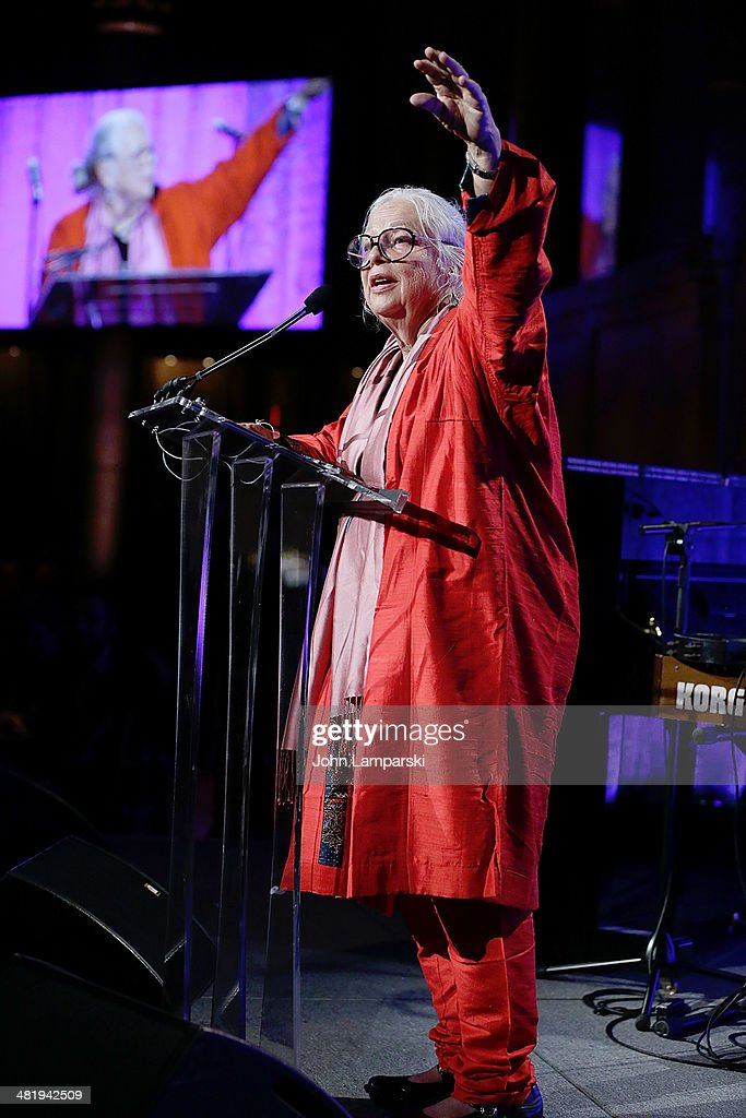 Honoree Lynda Benglis attends The New Museum Annual Spring Gala at Cipriani Wall Street on April 1, 2014 in New York City.