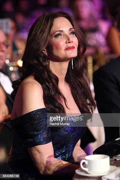 Honoree Lynda Carter attends the 41st Annual Gracie Awards at Regent Beverly Wilshire Hotel on May 24 2016 in Beverly Hills California